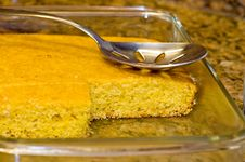 Free Fresh-baked, Golden Cornbread-2 Royalty Free Stock Images - 1994459