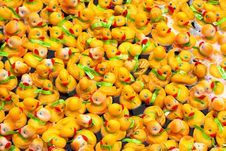 Free Rubber Duckies Royalty Free Stock Photography - 1994737