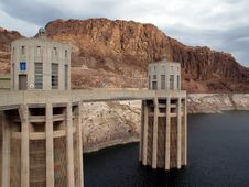 Free The Hoover Dam In Arizona Royalty Free Stock Images - 1994909