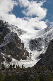 Free Mountains And Glacier. Royalty Free Stock Photos - 1995468