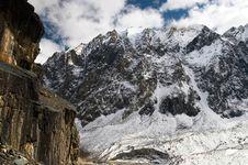 Free Mountains And Glacier. Royalty Free Stock Photos - 1995488