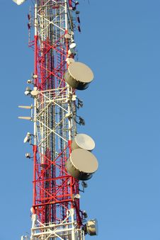 Free Transmitter Mast Royalty Free Stock Images - 1995699