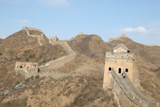 Free Great Wall On Mountains Stock Photography - 1995902