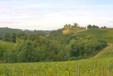 Classic Tuscan Farmhouse Royalty Free Stock Photos