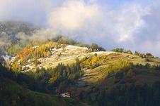 Free Mountains Village Stock Image - 1996941