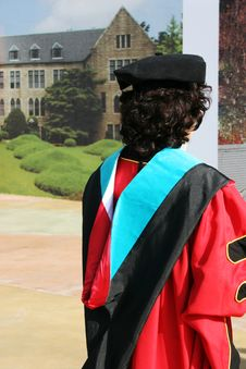 Free Graduate In Gowns Stock Photography - 1997472