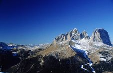 Free Dolomiti Mountains Stock Photography - 1997492
