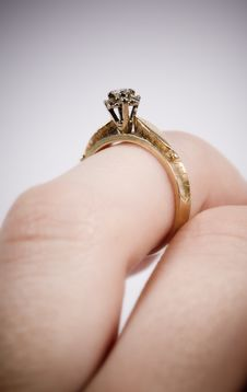 Free Engagement Ring Stock Photography - 1998432