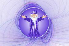 Free Wizard And Globe Stock Photo - 1998790