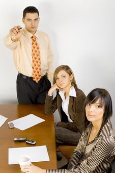 Free Business Meeting Stock Photography - 1999182
