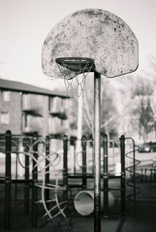 Free Basketball Hoop Stock Image - 1999491