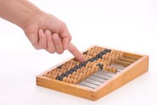 Free Counting By Abacus Stock Image - 1999581