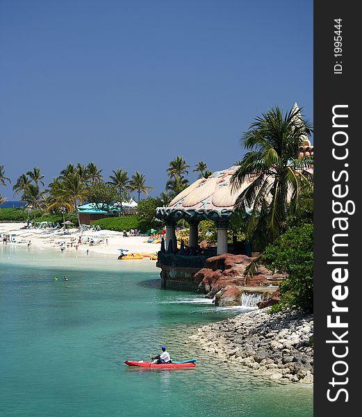 Watersport in paradise