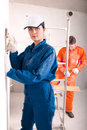 Free Construction Workers At Work Stock Photos - 19902713