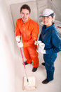 Free Construction Workers At Work Stock Photography - 19902732