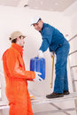 Free Construction Workers At Work Royalty Free Stock Photo - 19902735