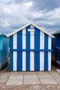 Free Beach Hut Blue White Stripes Royalty Free Stock Image - 19905786