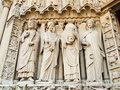 Free Christian Details Notre Dame Of Paris , France Stock Photography - 19907702
