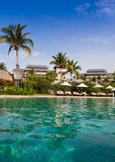 Free Resort Pool Stock Photo - 19900280