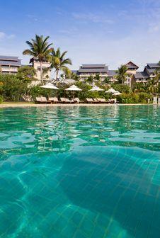 Free Luxury Resort Pool Stock Photos - 19900353