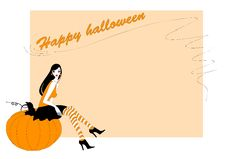 Free Invitation To Halloween Party Royalty Free Stock Images - 19900409