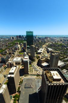 Boston In Massachusetts Royalty Free Stock Photo