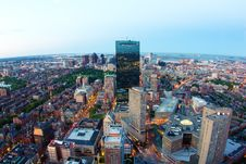 Boston In Massachusetts Royalty Free Stock Image
