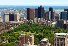 Free Boston In Massachusetts Stock Photography - 19900862