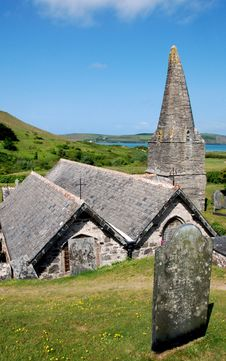 Free St Enodoc Church 2 Royalty Free Stock Photo - 19900885