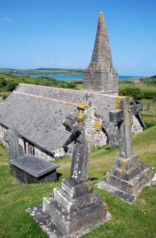 Free St Enodoc Church 4 Stock Image - 19900891