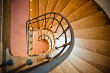 Free Spiral Stairs Royalty Free Stock Image - 19901156