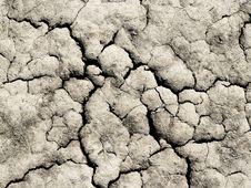 Cracked Ground Stock Image