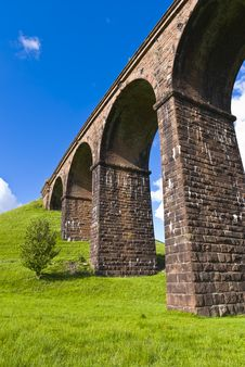 Free Lowgill Railway Viaduct Stock Photography - 19902322