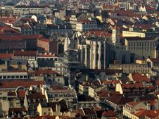 Free Panorama Of Lisbon Stock Photography - 19902942