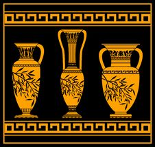 Free Hellenic Jugs Royalty Free Stock Images - 19902949