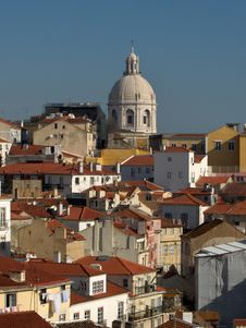 Free Panorama Of Lisbon - Alfama Stock Photo - 19902970