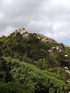 Free Sintra - Castelo Dos Mouros Stock Images - 19903034