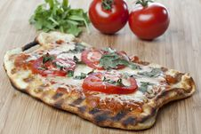 Free Homemade Margarita Pizza Royalty Free Stock Photography - 19903167