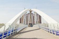 Free Millenium Bridge, Salford Quays Royalty Free Stock Photos - 19903218