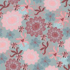 Free Seamless Floral Pattern . Background Stock Photography - 19903282