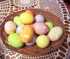 Free Colorful Easter Eggs Royalty Free Stock Photos - 19903768
