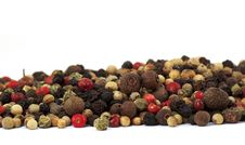 Free Close Up Of Several Types Of Peppercorns Royalty Free Stock Photography - 19904157