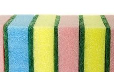 Free Colorful Sponges Royalty Free Stock Images - 19904229