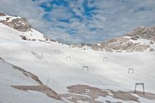 Free Zugspitze - Ski-lift Stock Photography - 19904342