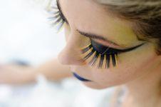 Free Make Up Girl Stock Image - 19905641