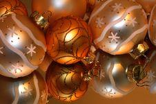 Free Christmas Balls Stock Image - 19905871