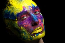 Fashion Makeup Stock Image