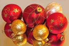 Free Christmas Balls Royalty Free Stock Image - 19905996