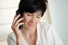 Free Talking On The Phone Royalty Free Stock Photos - 19906528