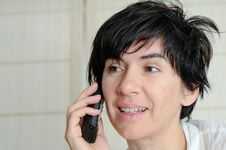 Free Talking On The Phone Royalty Free Stock Images - 19906539